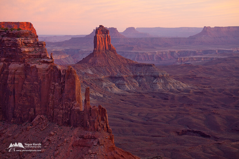 Candlestick Tower, Canyonlands National Park, Utah, USA