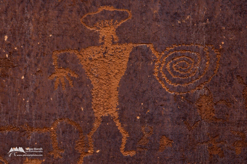 Petroglyphs and Rock Art, Byway 279, Moab