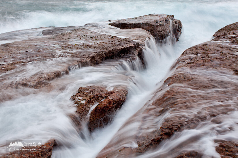 Water Flows at Palm Beach, NSW, Australia