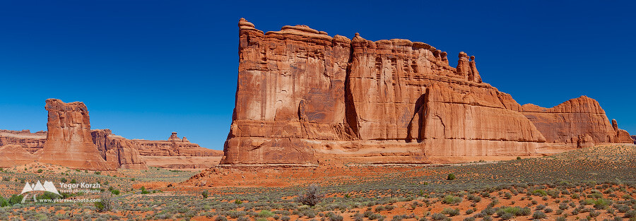 Tower of Babel, Arches National Park, Utah, USA