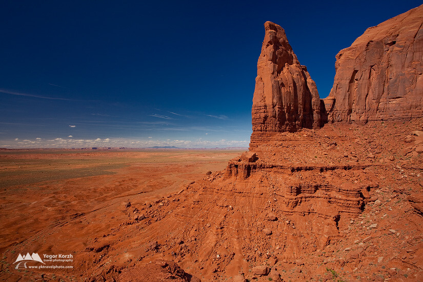 Artist Point, Monument Valley, Arizona, USA