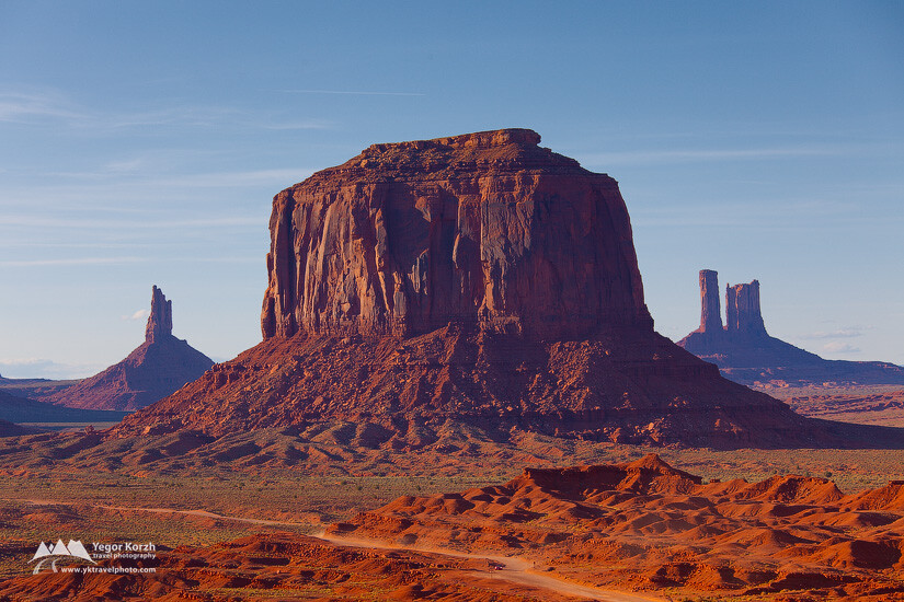 Merrick  Butte, Monument Valley, Arizona, USA