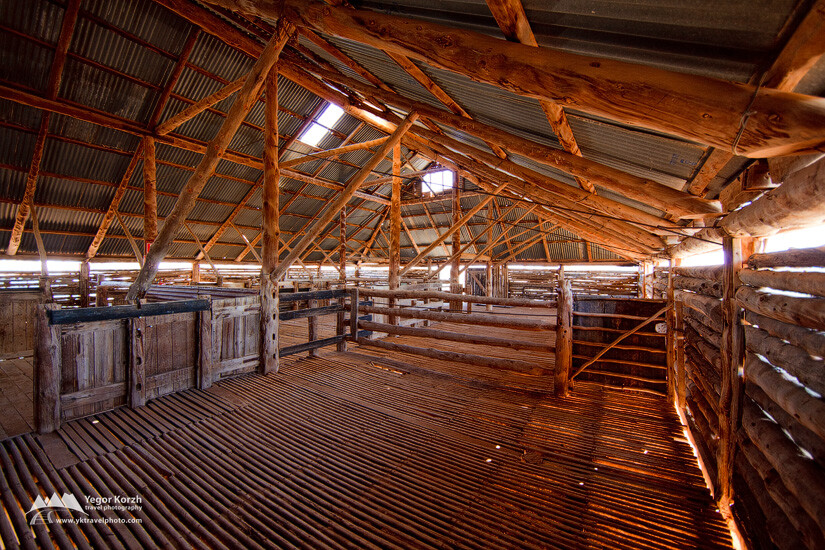 Lake Mungo Woolshed, Mungo National Park, NSW, Australia