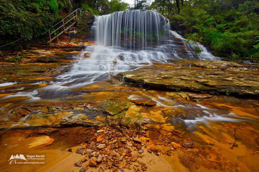 Weeping Rock, Blue Mountains NP, NSW, Australia