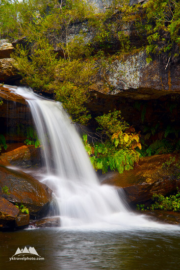 Upper Gledhill Falls, Ku-ring-gai Chase National Park, NSW, Australia
