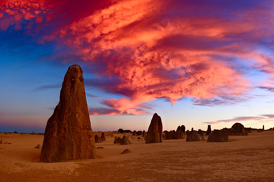places pinnacles nambung national park