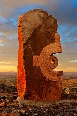 Bajo El Sol Jaguar, The Broken Hill Sculpture Symposium