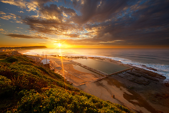 Merewether Baths, NSW, Australia