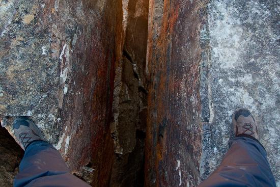 Hanging Rock, Blue Mountains National Park, NSW, Australia