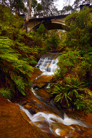 Leura Waterfalls, Blue Mountains National Park, NSW, Australia