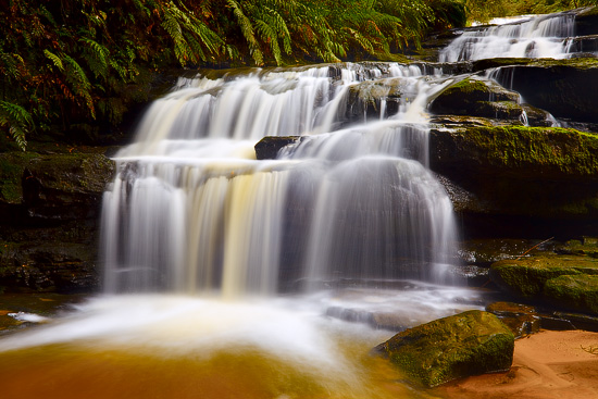 Leura Cascades, Blue Mountains National Park, NSW, Australia
