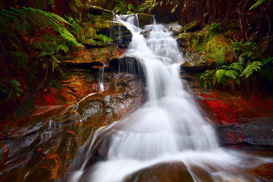 Leura Waterfalls, Blue Mountains National Park, NSW, Australia
