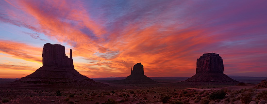 Monument Valley Sunrise, Arizona, USA