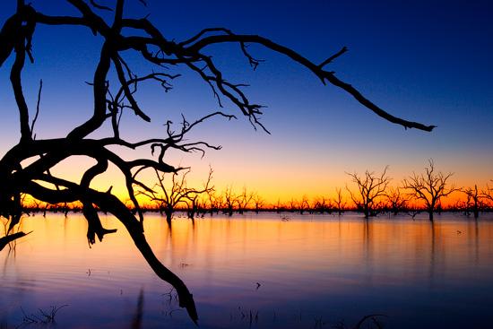 The Lake Pamamaroo, NSW, Australia