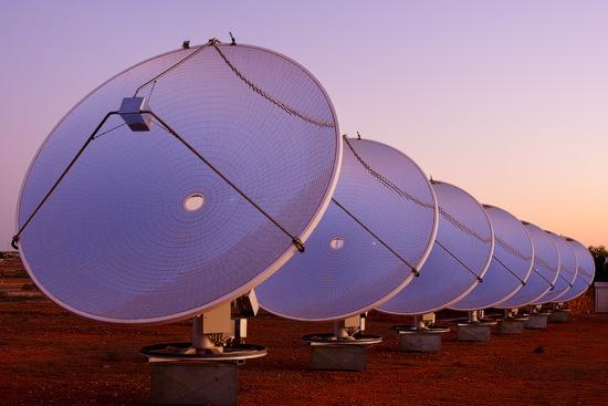 White Cliffs Solar Power Station, NSW, Australia