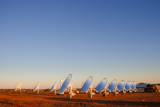 White Cliffs Solar Power Station, NSW, Australia