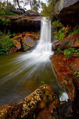 locations upper gledhill falls ring chase national park